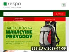 Miniaturka respo.pl (Smycze reklamowe)