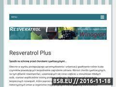 Miniaturka domeny resveratrol.org.pl