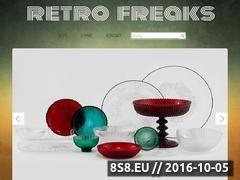 Miniaturka retrofreaks.pl (Blog o designie minionych dekad!)