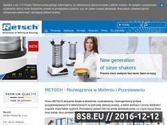 Miniaturka domeny www.retsch.pl