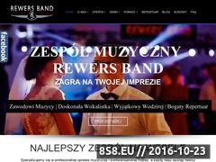 Miniaturka www.rewersband.pl (Zespół muzyczny na wesele w Warszawie)