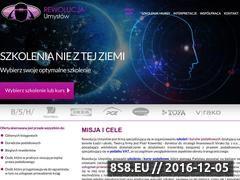 Miniaturka domeny rewolucjaumyslow.pl