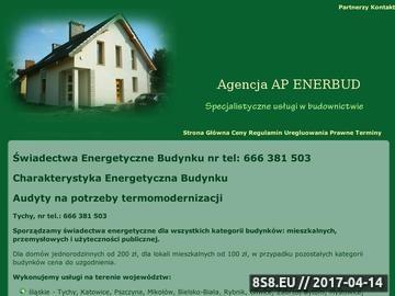 Zrzut strony Świadectwa energetyczne Katowice