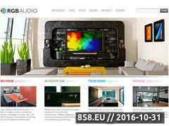Miniaturka domeny www.rgbaudio.com