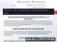 Miniaturka domeny www.rgkancelaria.pl
