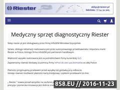 Miniaturka www.riester.pl (Otoskopy)