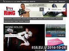 Miniaturka domeny ring-sport.pl