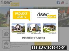 Miniaturka domeny www.riserdomy.pl