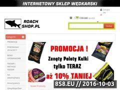 Miniaturka www.roach-shop.pl (Sprzęt wędkarski)