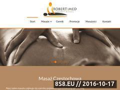 Miniaturka domeny www.robert-med.pl