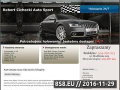 Miniaturka domeny www.robertautosport.pl