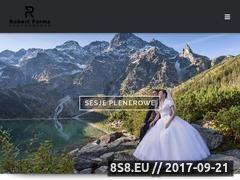 Miniaturka robertparma.pl (Profesjonalna fotografia ślubna)