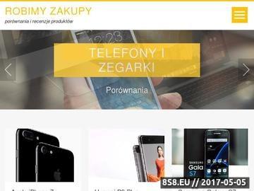 Zrzut strony RobimyZakupy.pl Supermarket internetowy
