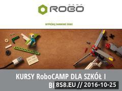 Miniaturka domeny www.robocamp.pl