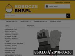 Miniaturka roboczebhp.pl (Odzież robocza, rękawice robocze i obuwie robocze)