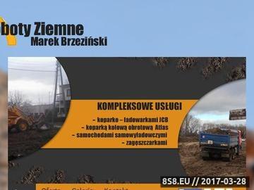 Zrzut strony M. Brzeziński - roboty ziemne