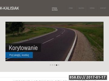 Zrzut strony Koparka Olsztyn