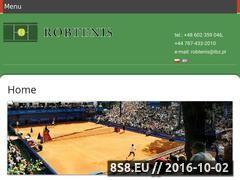 Miniaturka robtenis.com.pl (Budowa i renowacja kortów tenisowych)