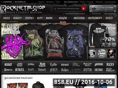 Miniaturka domeny www.rockmetalshop.pl