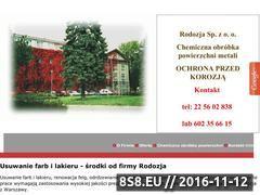 Miniaturka domeny www.rodozja.pl
