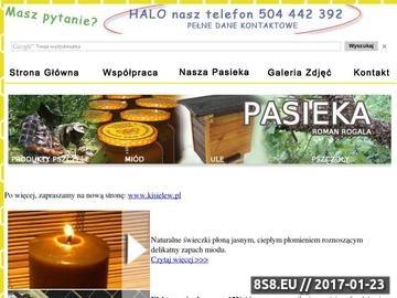 Zrzut strony Usługi Budowlane i Stolarskie - Ule warszawskie