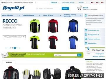 Zrzut strony Odzież rowerowa i sportowa ROGELLI