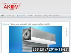 Miniaturka domeny www.roleta.pl