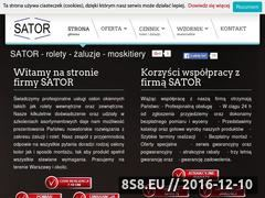 Miniaturka domeny www.rolety-moskitiery.warszawa.pl