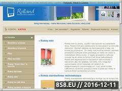 Miniaturka domeny www.rolety.az.pl