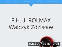 Miniaturka domeny rolmax.ostrowiec.pl