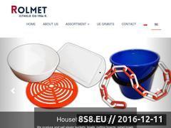 Miniaturka domeny www.rolmet.net