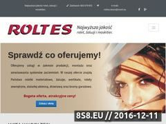 Miniaturka domeny www.roltes.eu