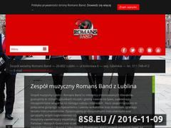 Miniaturka domeny www.romansband.pl