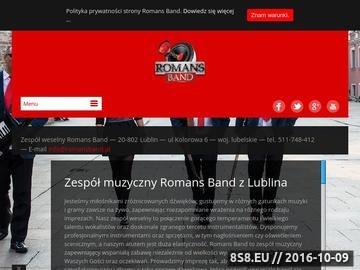 Zrzut strony Oprawa muzyczna wesel Lublin oraz Warszawa