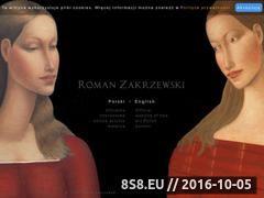 Miniaturka domeny www.romanzakrzewski.pl