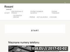 Miniaturka domeny rosani.pl