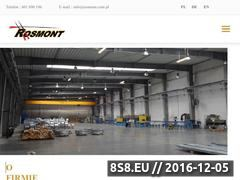 Miniaturka domeny www.rosmont.pl