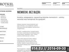 Miniaturka domeny rotkel.pl
