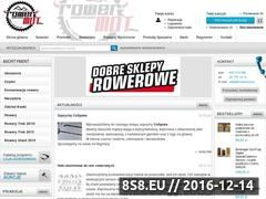 Miniaturka www.rowermot.pl (Części rowerowe oraz części rowerowe - sklep)