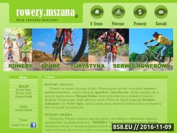 Zrzut strony Rowery Mszana Dolna •• Kraków, Merida, Arkus, Limanowa, Rabka