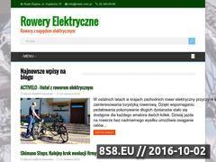 Miniaturka domeny www.roweryelektryczne.info