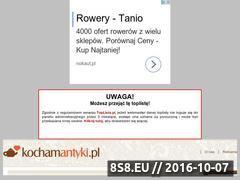 Miniaturka domeny roweryszosowe.toplista.pl