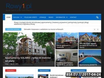Zrzut strony Rowy - Noclegi, Domki letniskowe, pensjonaty, kwatery, pokoje gościnne