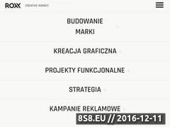 Miniaturka domeny roxxmedia.pl
