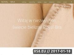 Miniaturka domeny www.royal-bra.pl