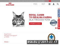 Miniaturka royalcanin.pl (Karmy dostosowane do potrzeb zwierząt)
