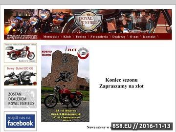 Zrzut strony Motocykle