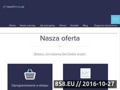 Miniaturka domeny www.rozwinsklep.pl