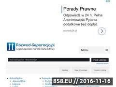 Miniaturka domeny www.rozwod-separacja.pl