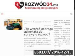 Miniaturka Wzór pozwu o rozwód z orzekaniem o winie (www.rozwod24.info)